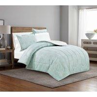 Mainstays Calm Grandeur Bed-in-a-Bag Complete Bedding Set