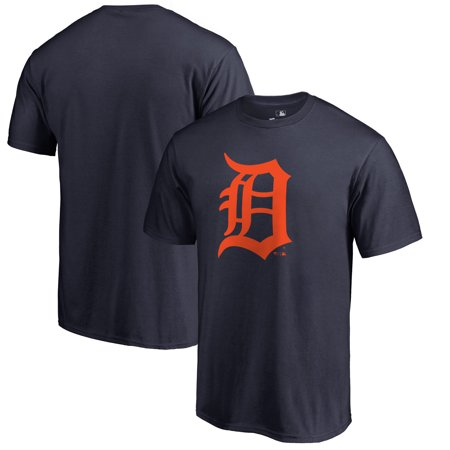 Detroit Tigers Big & Tall Primary Team Logo T-Shirt - Navy