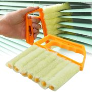 Microfibre Blind Brush Window Air Conditioner Duster Dirt Dust Clean Cleaner