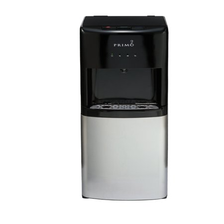 Primo Deluxe Bottom Loading ENERGY STAR Hot/Cool/Cold Water Dispenser, Black, Model -
