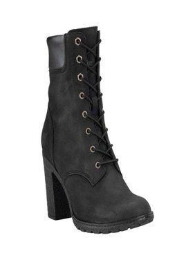 "Timberland Women's Black Glancy 6"" Boot"