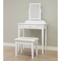 Home Craft 3-Piece Vanity Set, Multiple Colors