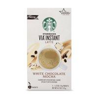 Starbucks VIA Instant White Chocolate Mocha Latte (1 box of 5 packets)