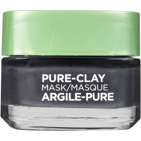 L'Oreal Paris Pure Clay Mask Detox & Brighten (Aloe Vera Face Mask For Dry Skin)