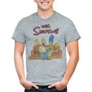 Simpsons Men s Bart Group Shot Graphic Short Sleeve T-shirt bd56a2371