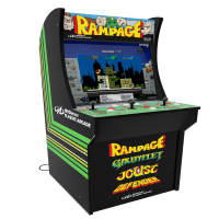Rampage Arcade Machine, Arcade1UP, 4ft