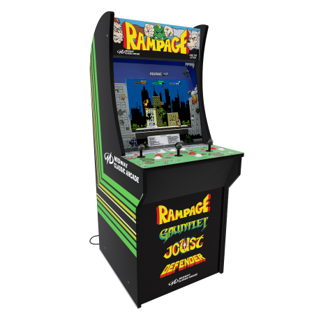 Arcade1up Rampage Machine 4ft Walmart Com