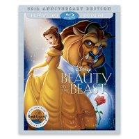 Beauty And The Beast (25th Anniversary Edition) (Blu-ray + DVD + Digital HD)