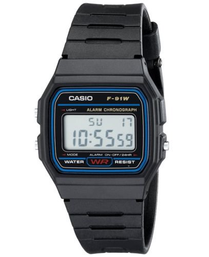 F91W-1 Classic Resin Strap Sport Watch (Casio Vintage Watch)