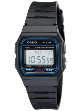 F91W-1 Classic Resin Strap Sport Watch
