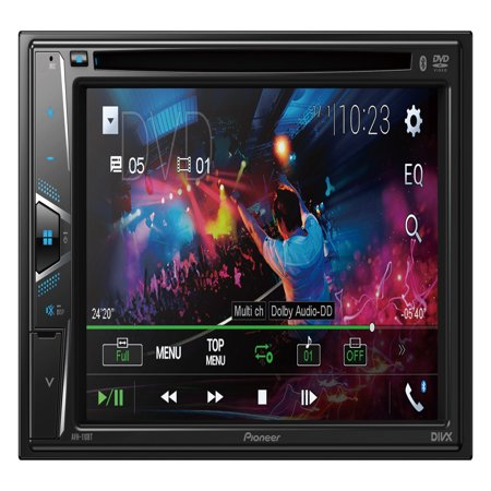 Pioneer Pro Dvd Player - Pioneer AVH-110BT DVD 6.2