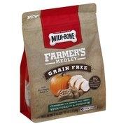 (2 pack) Milk-Bone Farmer's Medley Grain Free With Turkey & Pumpkin Dog Treats, 12-Ounce
