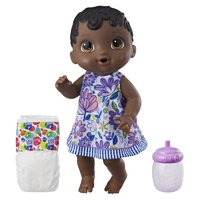 Baby Alive Sweet Spoonfuls Baby, Black Straight Hair, Ages 3 and up