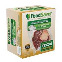 """FoodSaver GameSaver 8"""" x 20' Vacuum Seal Rolls, 6 Pack"""