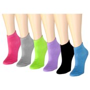cecfab0ee 12 Pairs Women s Ankle Socks Assorted Colors Size ...
