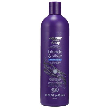 Equate Beauty Blonde & Silver Shampoo, 16 fl oz