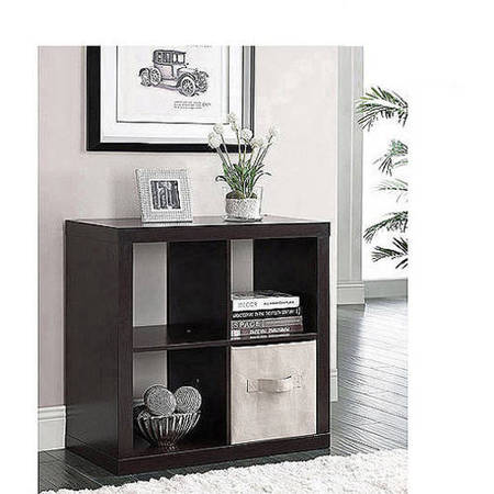 Better Homes and Gardens Square 4-Cube Organizer, Multiple Colors