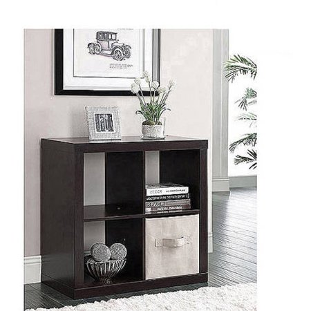 Better Homes And Gardens Square 4 Cube Storage Organizer Multiple Colors Walmart Com