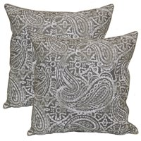 Better Homes & Gardens 19 x 19 in. Ornate Paisley Outdoor Toss Pillow - Set of 2