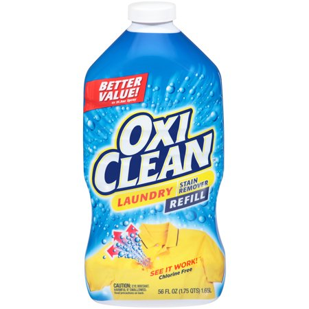 OxiClean Laundry Stain Remover Spray Refill, 56 (Spray N Wash Laundry)