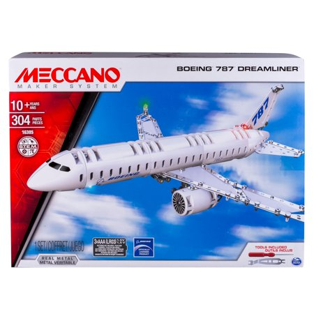 - Meccano by Erector, Boeing 787 Dreamliner Model Building Kit
