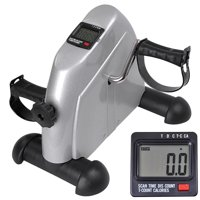 Mini Pedal Exerciser Bike Cycle Fitness Exercise Indoor Stationary w/ LCD Display