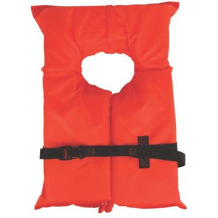 - Coleman Stearns Adult Type II Life Jacket, Orange