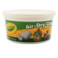Crayola® Air-Dry Clay, White, 2.5 lb. Resealable Bucket