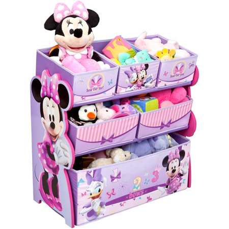 Organiser Mini - Disney Minnie Mouse Multi-Bin Toy Organizer by Delta Children