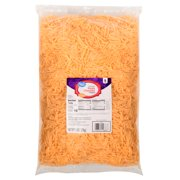 Great Value, Shredded Cheddar Cheese, Sharp, 5 Lb.