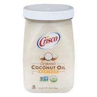 Crisco Organic Refined Coconut Oil, 27.0 FL OZ