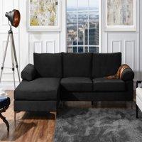 Modern Velvet Large Sectional Sofa