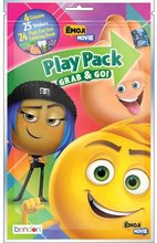 Emoji Movie Grab and Go Play Pack Party Favors (12 Packs)