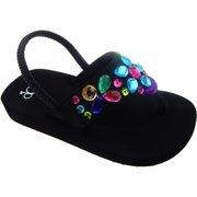 b518eed820b4 Toddler Girls  Wedge Beach Sandal
