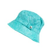 c4307e16d19 Women s Bucket Rain Hat with Band and Embossed Snap