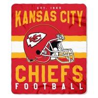 "NFL Kansas City Chiefs ""Singular"" 50"" x 60"" Fleece Throw"