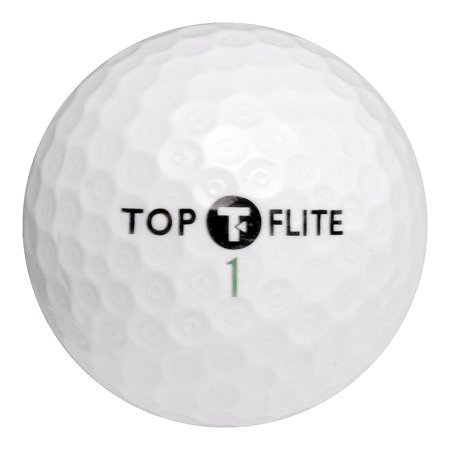 - Top Flite Golf Balls, Used, Mint Quality, 12 Pack