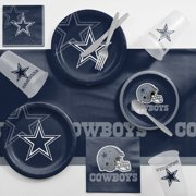 f006c76250f Dallas Cowboys Game Day Party Supplies Kit