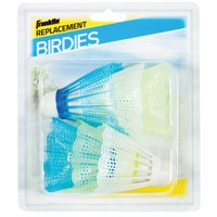 Franklin Sports 6-Pack Badminton Replacement Shuttlecocks