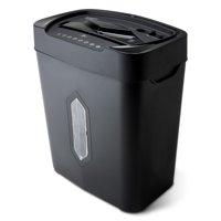 Aurora 12-Sheet Crosscut Paper and Credit Card Shredder with 5.2-gallon Wastebasket