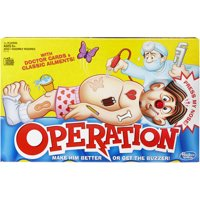 Classic Family Favorite Operation Game, Ages 6 and up