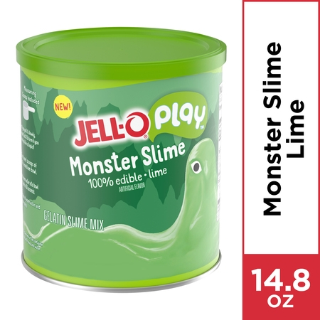 Jell-O Play Slime Making Kit, Monster Slime, 14.8 oz (Own Monster Kit)