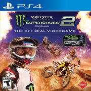 Monster Energy Supercross 2 - The Official Videogame 2 Day One Edition, Milestone, PlayStation 4, 662248922317