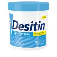 Desitin Daily Defense Baby Diaper Rash Cream with Zinc Oxide, 16 oz