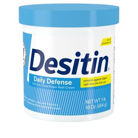 Desitin Daily Defense Baby Diaper Rash Cream with Zinc Oxide, 16