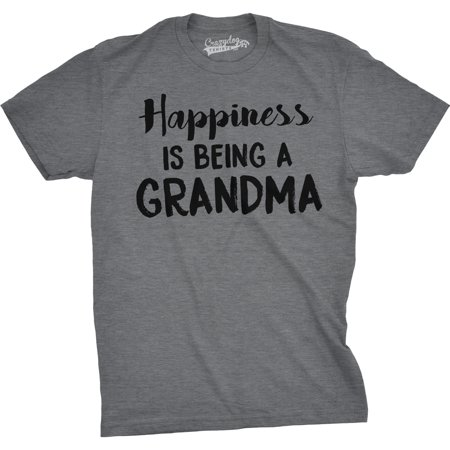 Happiness Is Being a Grandma Unisex Fit T shirts Gift Idea Funny Family T