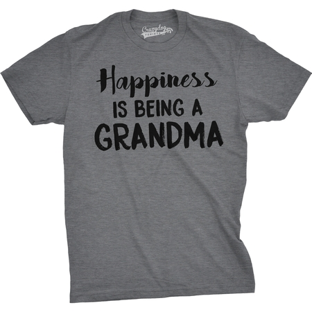 Happiness Is Being a Grandma Unisex Fit T shirts Gift Idea Funny Family T shirt