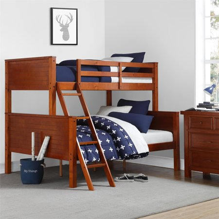 Your Zone Twin Over Full Bunk Bed, Multiple Colors ()