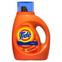 Tide Original Scent HE Turbo Clean Liquid Laundry Detergent, 40 oz, 25 loads