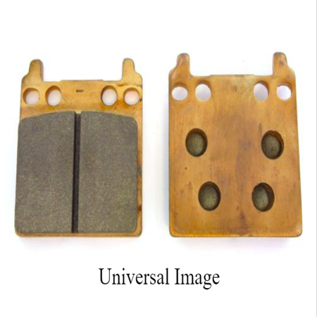 Rear Grooved Brake Pads for Suzuki GS 550 ET 1980